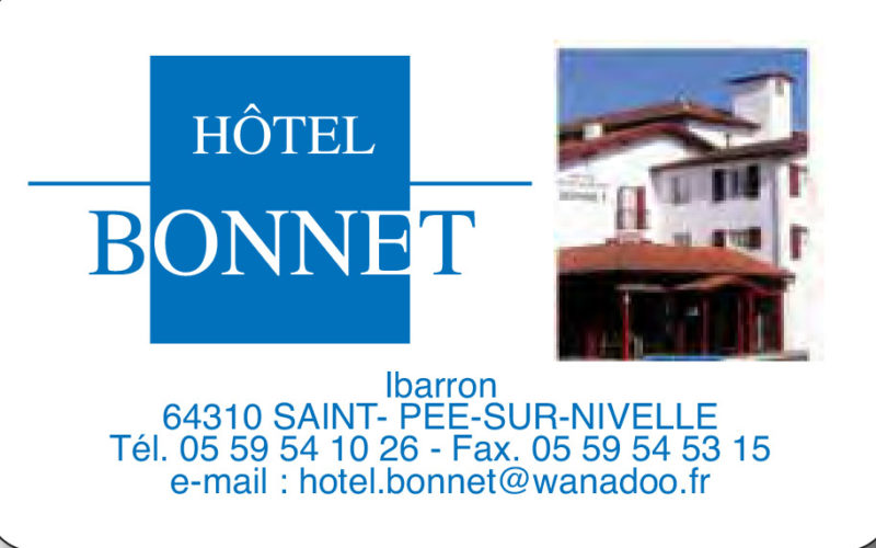 Hotel restaurant Bonnet