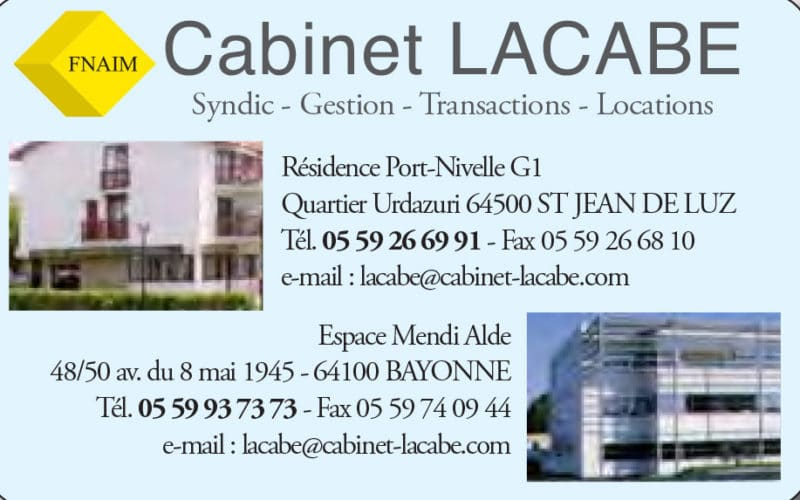 Cabinet lacabe immobilier